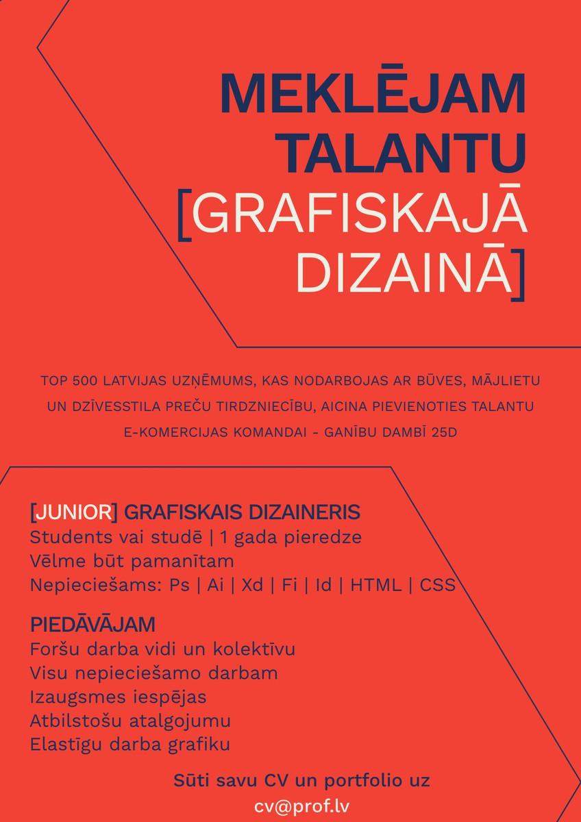 Grafiskais Dizaineris [Junior]