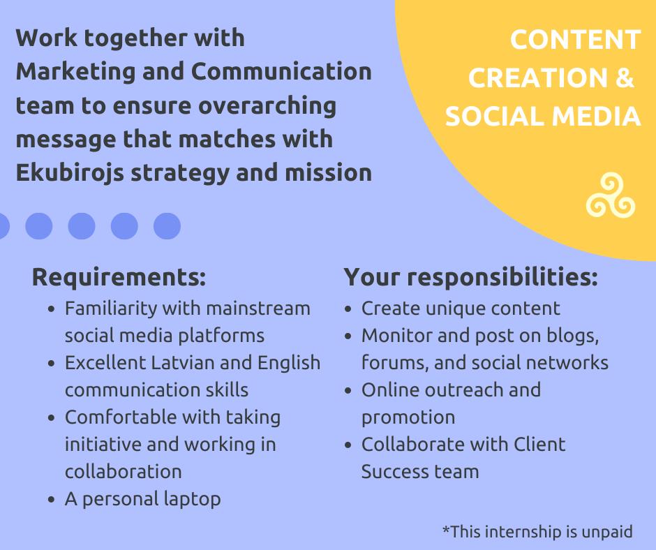 Content Creation / Social Media