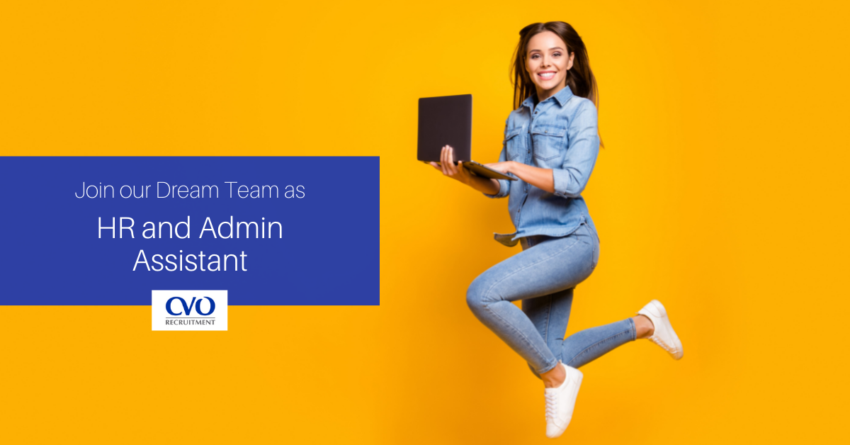 HR & ADMIN ASSISTANT   CVO Recruitment& Simplika