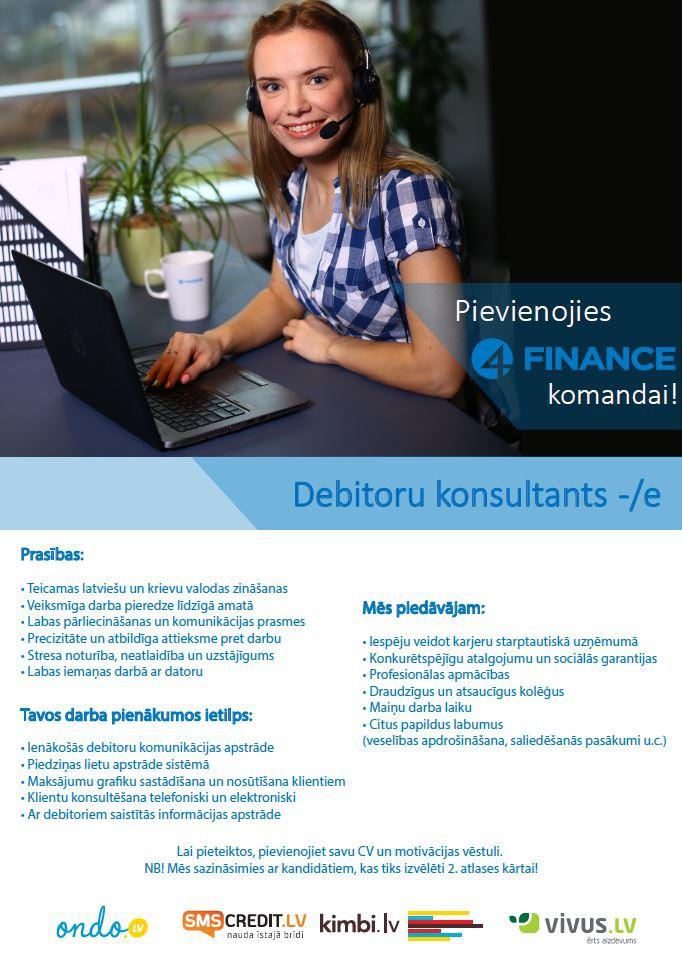 Debitoru konsultants/e
