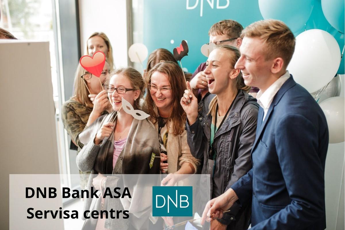 Attālinātā ekskursija DNB Servisa centrā Rīgā